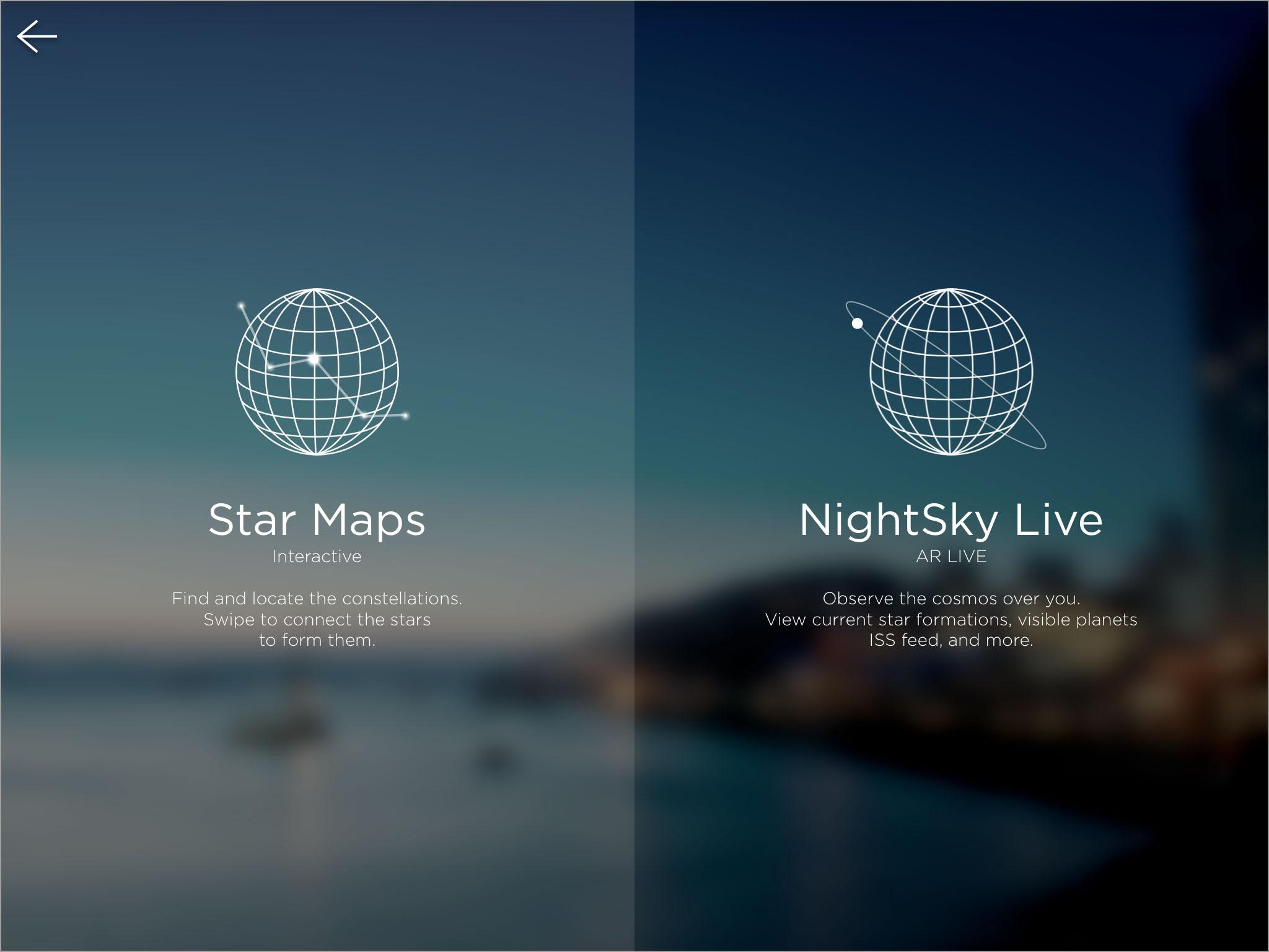 Nightsky Concept App Design Jiro Tamase Artist Designer